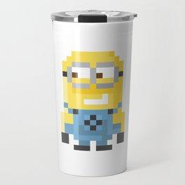 8bit Minion (Bob) Travel Mug
