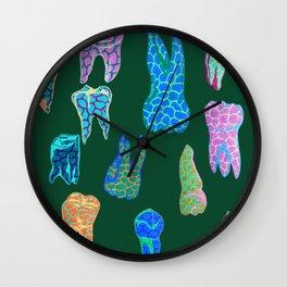 Teeth 2 Wall Clock