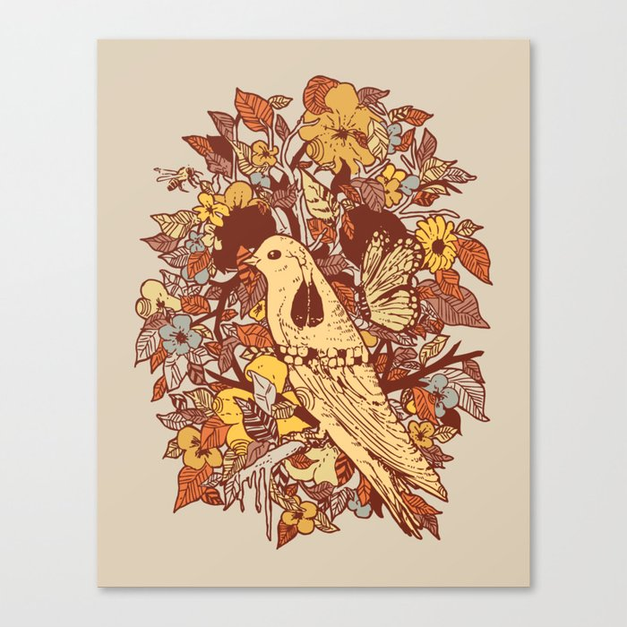 Strange and Beautiful Canvas Print
