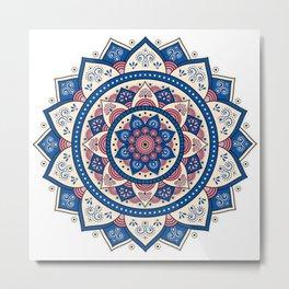 Mandala Tujuh / Seven Metal Print