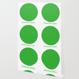 American Green Wallpaper