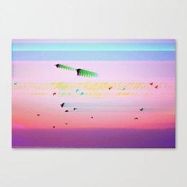 Birds Transcending Time Canvas Print