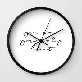 Only Limit Wall Clock