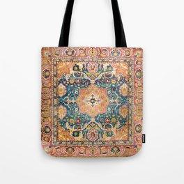 Amritsar Punjab North Indian Rug Print Tote Bag