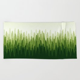 C1.3 Pine Gradient Beach Towel