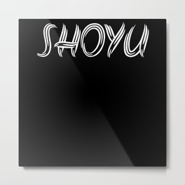 Agodashi Shoyu Ramen Metal Print