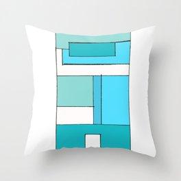Bricksie Throw Pillow