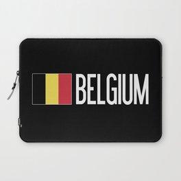 Belgium: Belgian Flag & Belgium Laptop Sleeve