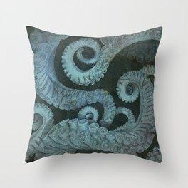 Octopus 2 Throw Pillow