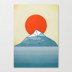 The Mountain and the Sun Canvas Print
