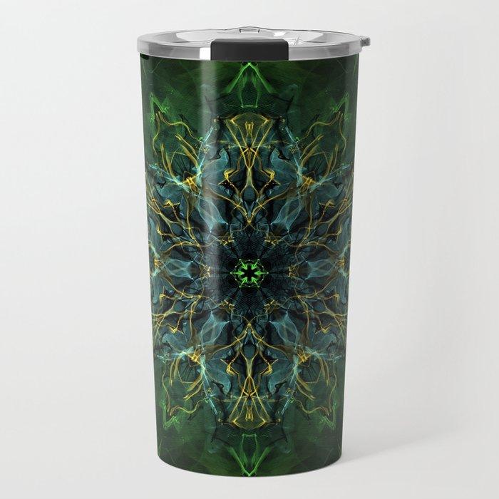 Soul Nebula Mandala Travel Mug