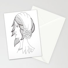 Don't look back.. Stationery Cards