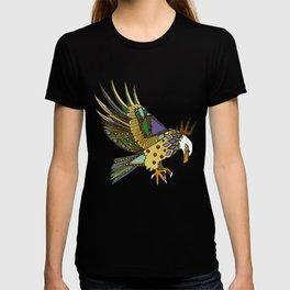 jewel eagle white T-shirt