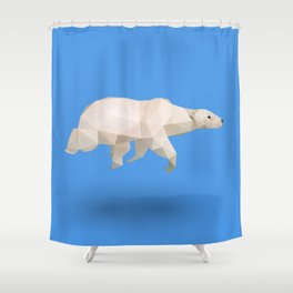 Polar Bear. Shower Curtain