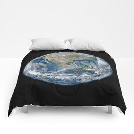Planet Earth from Above Comforters