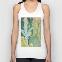cacti Tank Tops featuring Cacti by Julia Walters Illustration