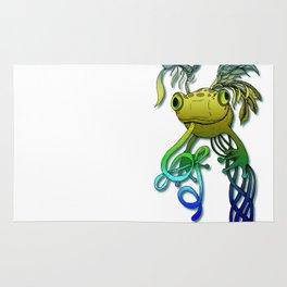 Psychoactive Frog Rug