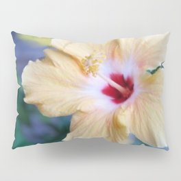 White Hibiscus Pillow Sham