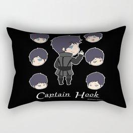 A Little Hooked Rectangular Pillow