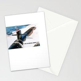 USS ALABAMA (SSBN-731) Stationery Cards