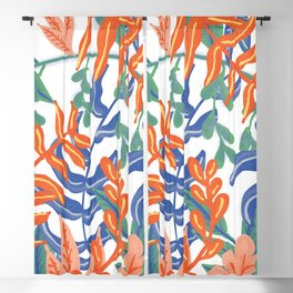 Abstract Tropical Pattern Blackout Curtain