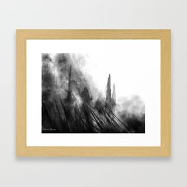 TO THE TOP Framed Art Print