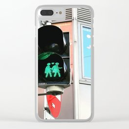 Love Is Strong Clear iPhone Case