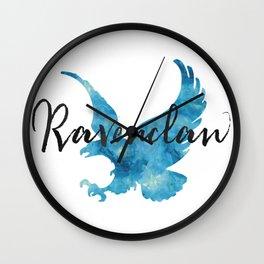 Ravenclaw Hogwarts House Pride Wall Clock