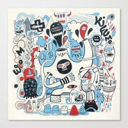 La montagne Kifume  Canvas Print
