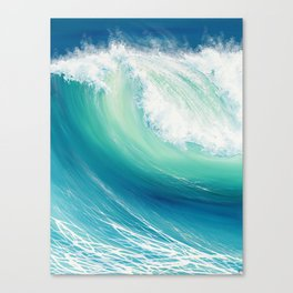 Thunder Song Canvas Print