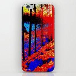 Snow Fire iPhone Skin