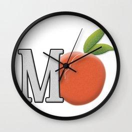 mPeach Wall Clock
