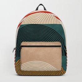 Geometric lines & shapes II circles Backpack