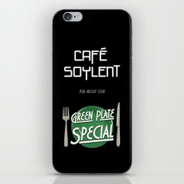 Soylent Cafe's Green Plate Special iPhone Skin