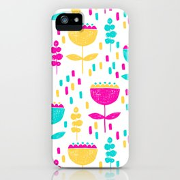 Colorful Tulips by Mak Mak iPhone Case
