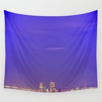 denver Wall Tapestries featuring Denver by Augustina Trejo