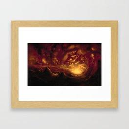 Speed Scape Framed Art Print
