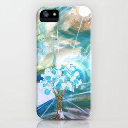 Glowing Tree iPhone Case