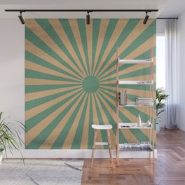 Seeing Rays Wall Mural