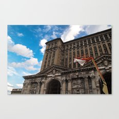 Michigan Central Station Canvas Print