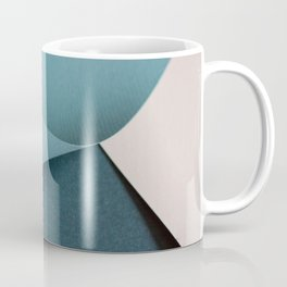 Folded paper waves Coffee Mug
