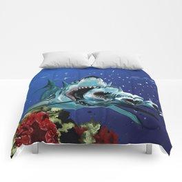 Sharkioska Comforters