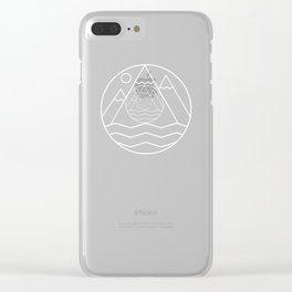 Alpine Summit Clear iPhone Case