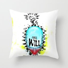 Will Throw Pillow