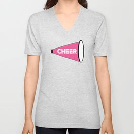 CHEER - color splash Unisex V-Neck