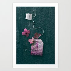 The Art of Tea II Art Print