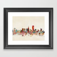 san francisco california Framed Art Print