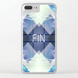 _FIN Clear iPhone Case
