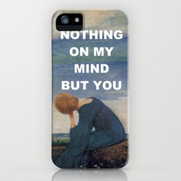 Longing (I Always Knew) iPhone Case
