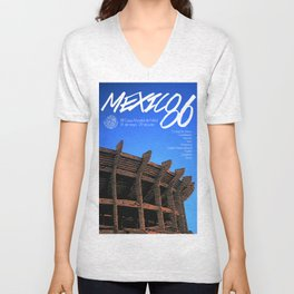 World Cup: Mexico 1986 Unisex V-Neck